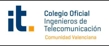 COITCV Colegio Oficial de Ingenieros de Telecomunicación Comunidad Valenciana